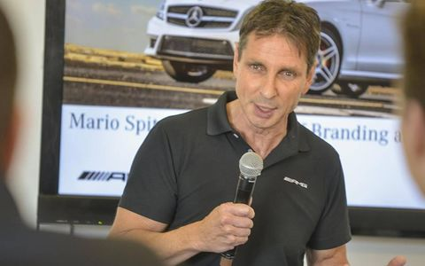 Mario Spitzner has been at AMG 24 years. He has been obsessed with America for slightly longer.