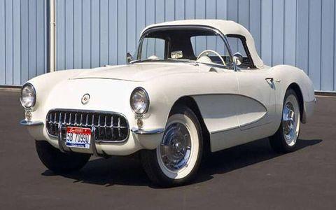 The 1957 Corvette