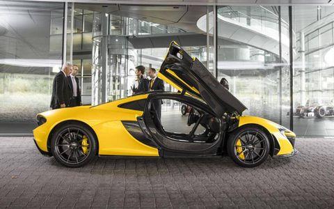McLaren will produce 375 P1 supercars.