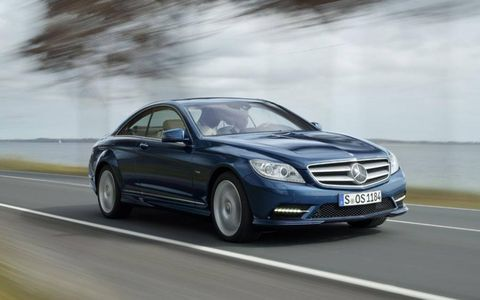 Driver's Log Gallery: 2011 Mercedes-Benz CL