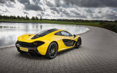 The first McLaren customer was based in the UK.