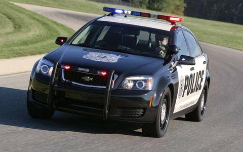 Chevy Caprice Police Patrol Vehicle