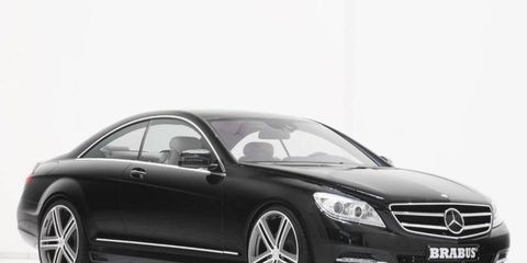 Brabus adds power and some interior bits for the Mercedes-Benz CL500 and S500