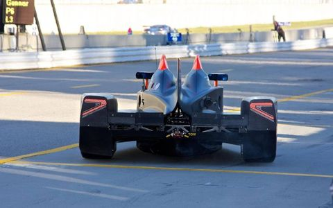 The Nissan DeltaWing heads back to the track.