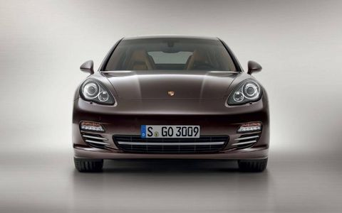 The 2013 Porsche Panamera Platinum Edition will cost about $80,000 for the two-wheel-drive model, $84,600 for all-wheel drive.