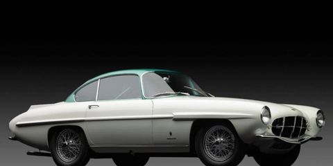 The Aston Martin DB2/4 Supersonic is one of about 15 largely-identical cars handmade by Ghia using different manufacturers' chassis.