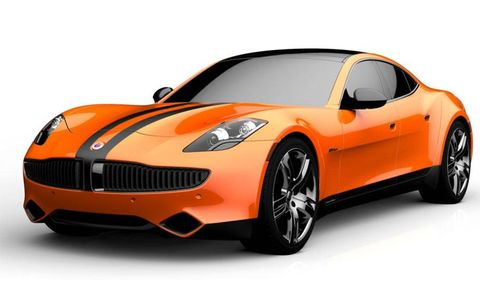 October Sun Fisker Karma concept at SEMA