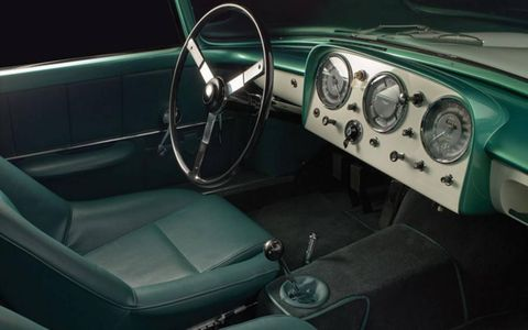 The car has recently been given a cost-no-object restoration.