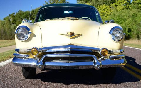 This 1953 Kaiser Dragon is reportedly all-original. That's good, because the supply of extra parts isn't exactly healthy.