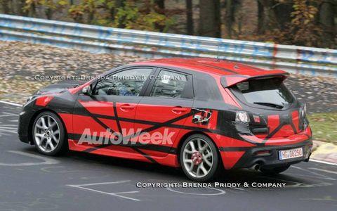 Spied: Mazdaspeed 3