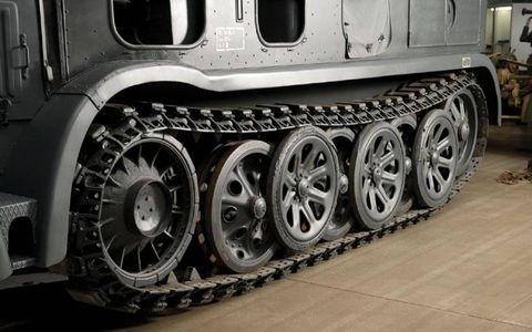 The Daimler-Benz DB10 12-ton Prime mover is one of the rarest military vehicles.