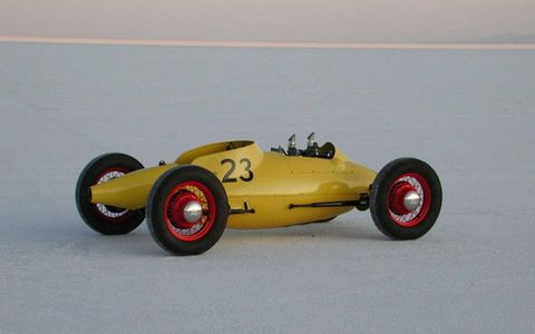 Since completing the rod in 2009, Geoff Hacker has exhibited it at Bonneville, entered it in the Amelia Island Concours d'Elegance and seen it featured in Rodder's Journal and other enthusiast publications.