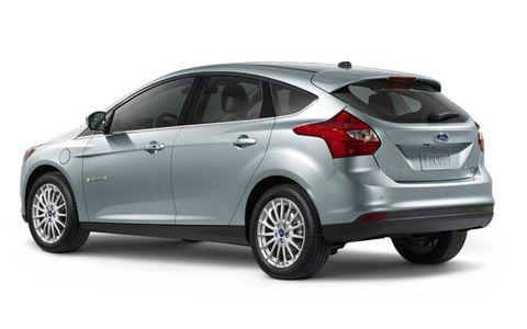The 2012 Ford Focus Electric is a nominee for Green Car of the Year