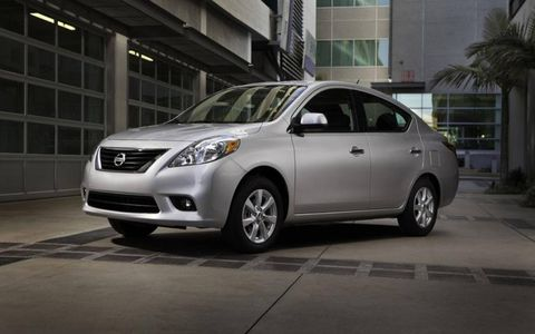 The previous Nissan Versa was billed as the cheapest car in America, and it earned that notoriety. The 2012 Versa 1.6 S Sedan is still inexpensive, but this time, it's a great value.