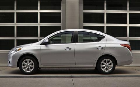 The 2012 Nissan Versa 1.6 S Sedan is still transportation at its most basic, but fortunately, air conditioning and radio are now standard-issue.