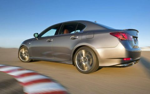 The Lexus GS 350 F Sport tears it up at the track