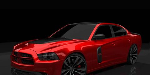 The 2011 Redline Dodge Charger brings the 2011 version of the vehicle lower to the ground with a suspension that lowers the car one inch.