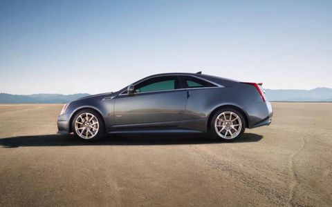 Visually, the 2012 Cadillac CTS-V Coupe is avant-garde without being gaudy or tasteless.