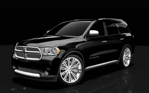 Mopar introduces the 2011 Dodge Durango Citadel Black & Tan.