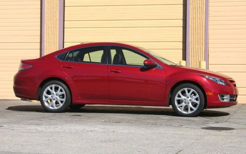 Driver's Log Gallery: 10 Mazda 6s Grand Touring