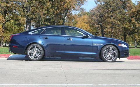 Driver's Log Gallery: 2011 Jaguar XJ Supersport