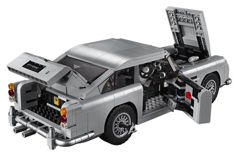 """Lego has turned the priceless Aston Martin DB5 from the legendary James Bond film """"Goldfinger"""" into a scale kit."""