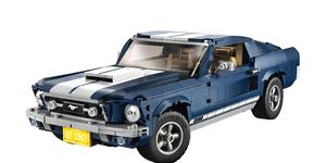The 1967 Ford Mustang will be available in brick form starting this March.