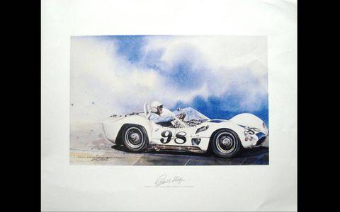 Carroll Shelby Maserati Birdcage by Bill Neale