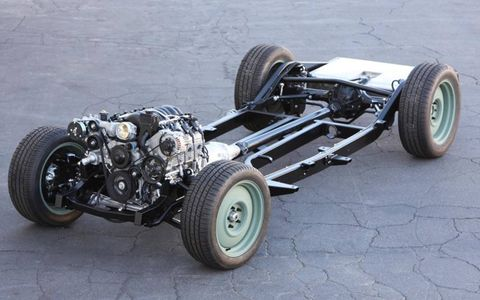 The car gets a new chassis and modern drivetrain.
