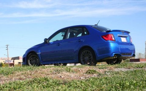 Driver's Log Gallery: 2011 Subaru WRX
