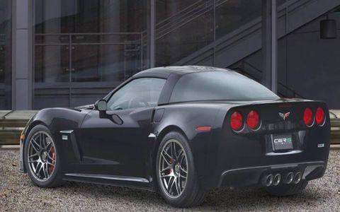 Jay Leno's E85-powered Z06-inspired C6RS Corvette