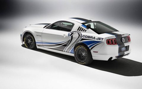The Ford Mustang Cobra Jet concept is not for the timid.