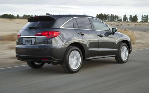 Exterior tyling on the 2013 Acura RDX Tech is a bit bland, but it still offers buyer good ride quality, fuel efficiency and a good value overall.