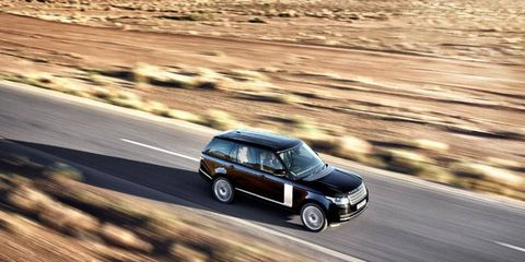 The redesigned 2013 Range Rover will arrive in the United States mid-December. We took a quick spin in a supercharged version in Morocco.