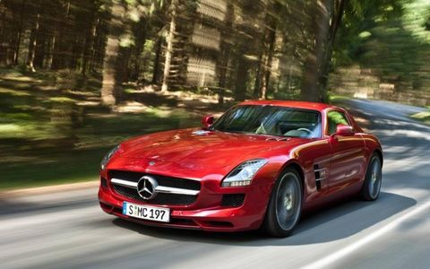 Comfort mode provides a decent-at-best ride, but bump it up to sport or sport plus and the SLS AMG is a ton of fun.