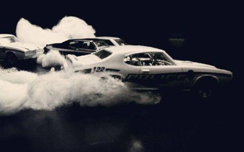 Killer Mike's black-and-white drag race.
