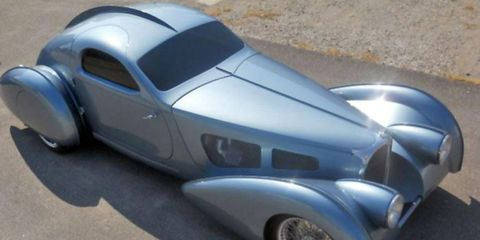 """The Delahaye USA Pacific prototype is no Bugatti Atlantic -- but then again, it isn't supposed to be. What is your opinion on modern """"tribute"""" cars?"""