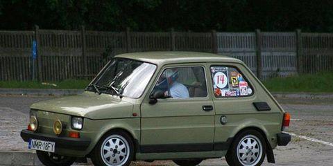 A Polski Fiat 126.
