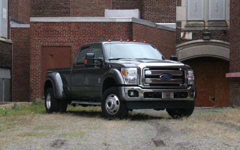 Driver's Log Gallery: 2011 Ford F-450 Super Duty Lariat