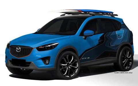 The Mazda CX-5 180 concept for SEMA.