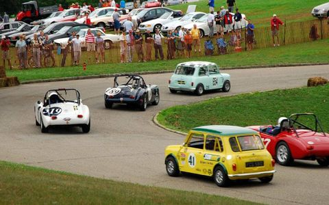 Classic under-2-liter races run through Schenley Park during the Pittsburgh Vinrage Grand Prix, which has evolved into a 10-day event.