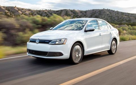 Total output for the Jetta Hybrid is 170 hp and 184 lb-ft of torque.