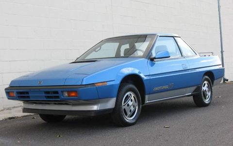 Drive magazine is rebuilding a Subaru XT Coupe with authentic parts