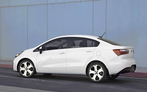 The Rio is an affordable option for those interested in a small sedan with a base price under $20,000.