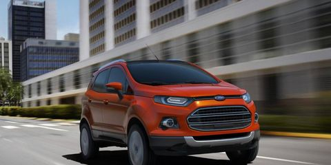 Ford introduced the second generation compact EcoSport in New Delhi