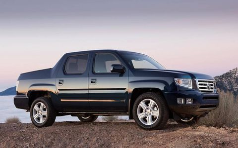 Fuel economy numbers for the Ridgeline are 15 mpg in the city and 21 mpg on the highway.