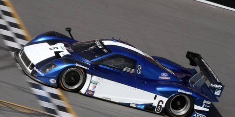 """Michael Valiante and the No. 6 Ford/Riley posted the fastest time curing the """"Roar Before the 24"""" test session at Daytona."""