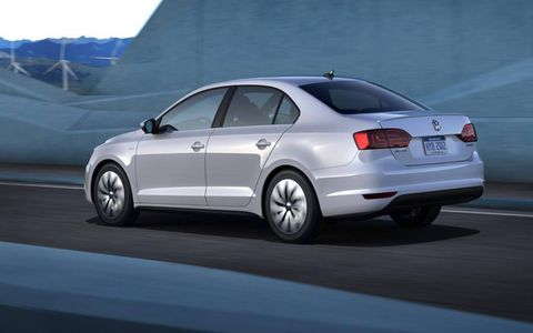 VW says the Jetta Hybrid will return 45 mpg combined.