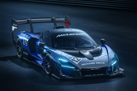 The McLaren Senna GTR is a track-only version of the insane Senna road car, with more power, downforce and braking.