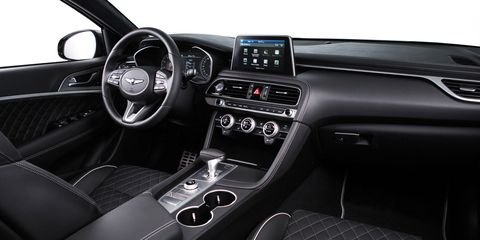 I'm a fan of the diamond stitching on the 2019 Genesis G70, you may not be.